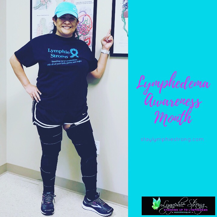 Lymphie Strong - Lymphedema Awareness Month
