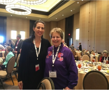 Becky & Heather Ferguson, Founder and Exec Director of Lymphedema Advocacy Group